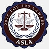 ASLA Top 100 Personal Injury Lawyers Georgia